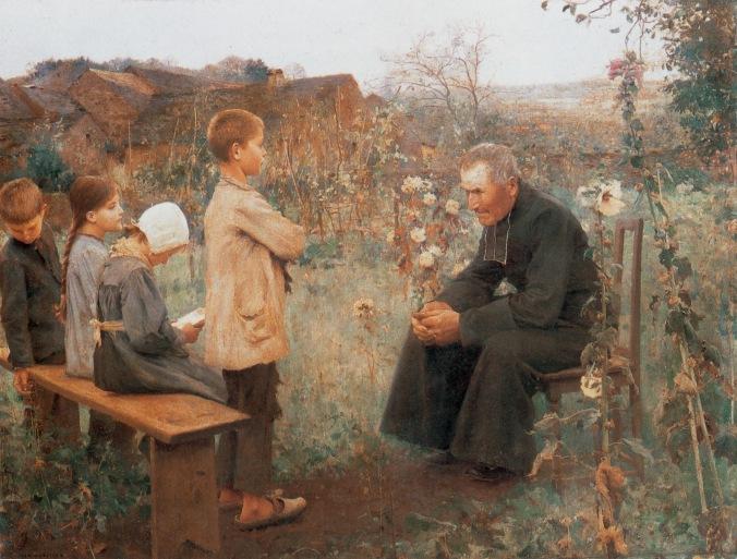Jules-Alexis_Muenier_-_La_Leçon_de_catéchisme